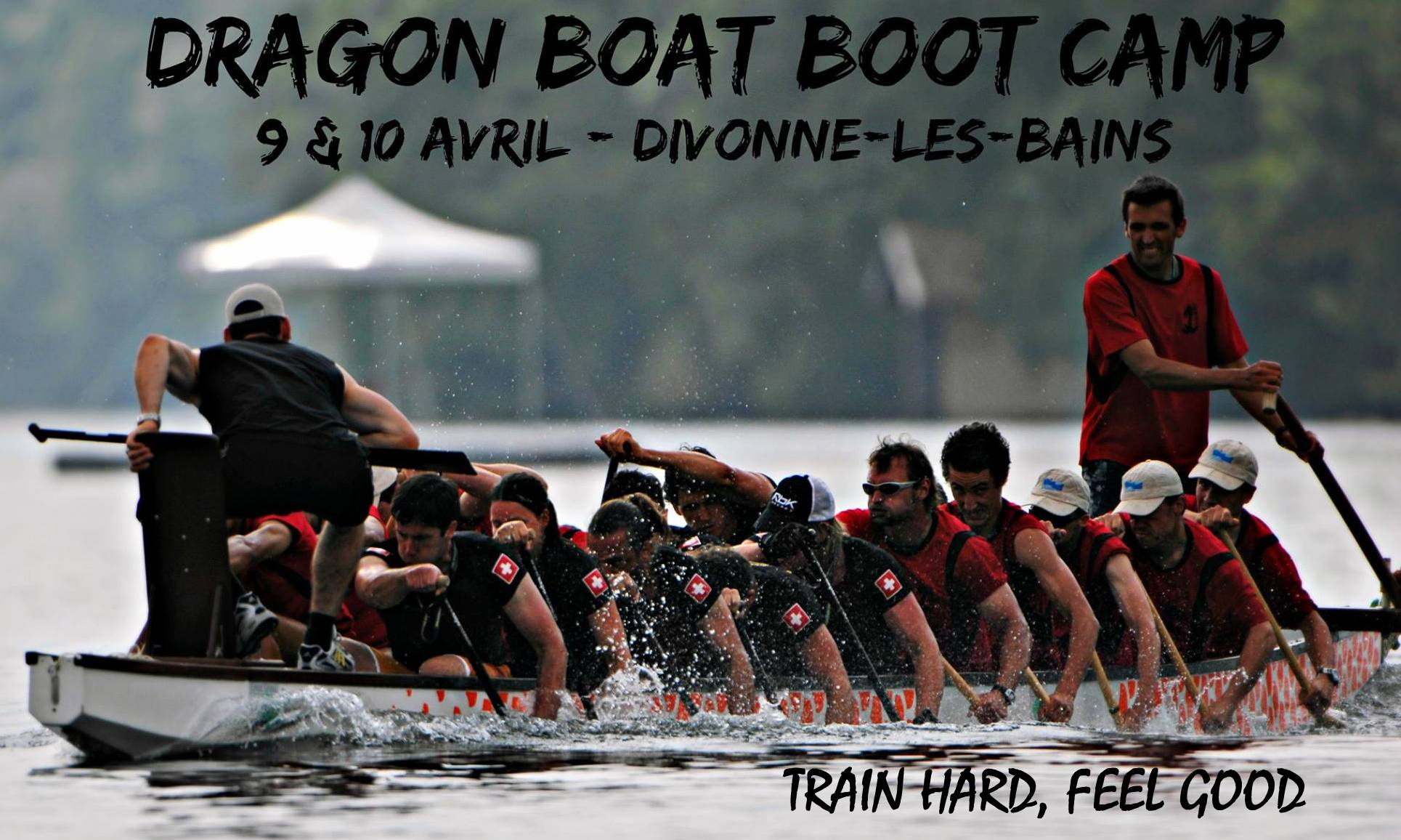 entrainement dragon boat camp boot