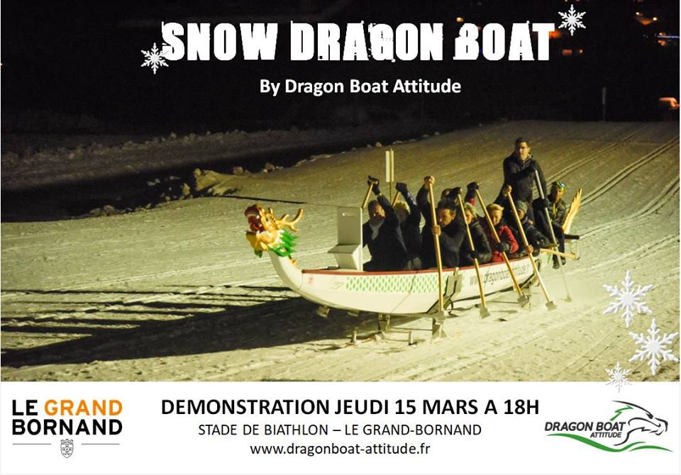 snow dragon boat grand-bornand